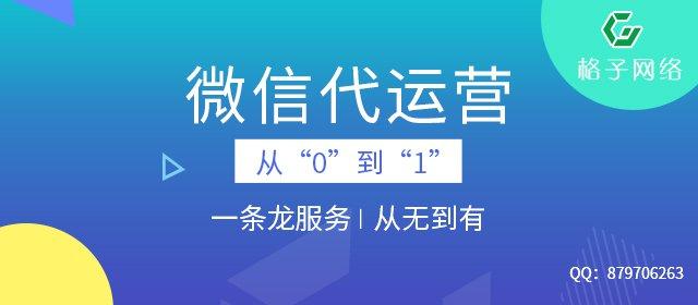 东莞格子网络:微信代运营平台哪个好?